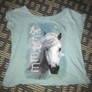 Justice Horse/Cowgirl Shirt
